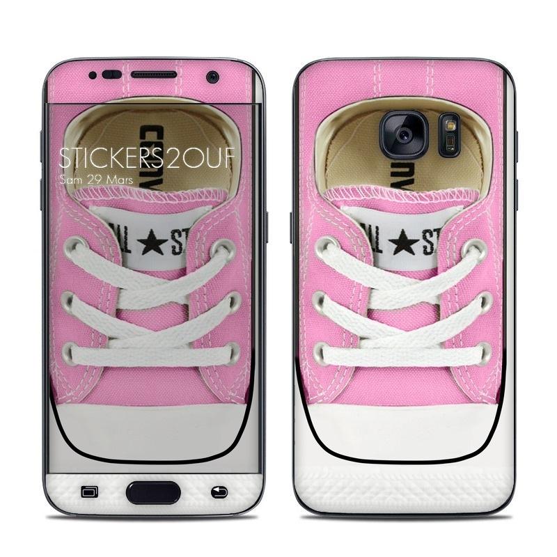 Pink Star Galaxy S7