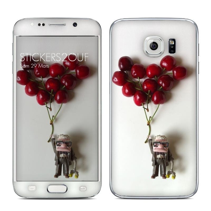 Up Cherry Galaxy S6 Edge