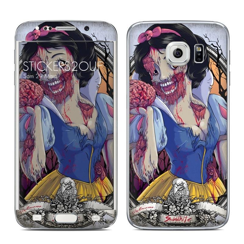 Blanche Neige Zombie Galaxy S6 Edge