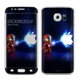 Mini iron man Galaxy S6 Edge