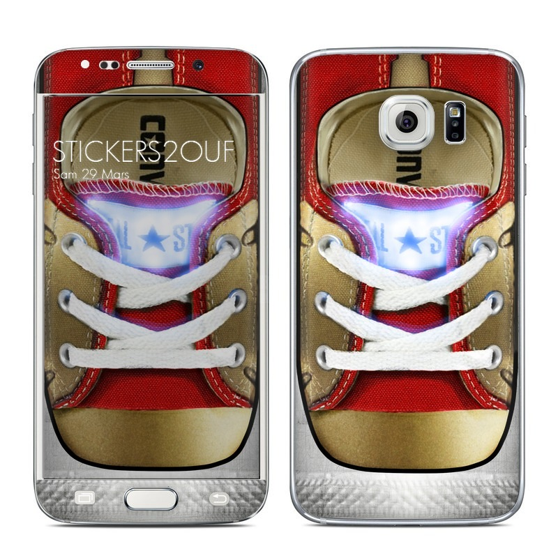 iron converse Galaxy S6 Edge