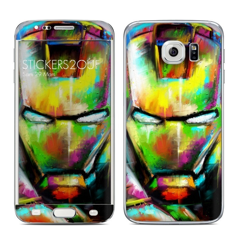 iron paint Galaxy S6 Edge