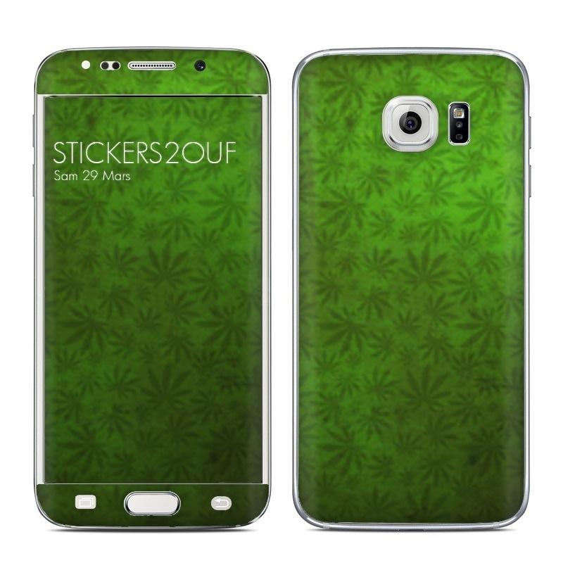 Weed Galaxy S6 Edge