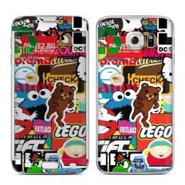 StickerBomb Galaxy S6 Edge