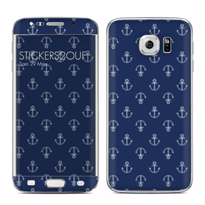 Blue Anchor Galaxy S6 Edge