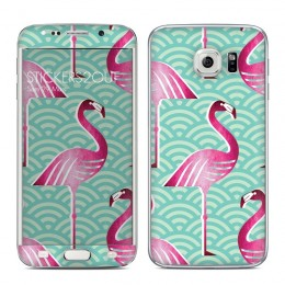 Flamingo Galaxy S6 Edge