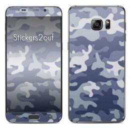 Camo bleu Galaxy S6