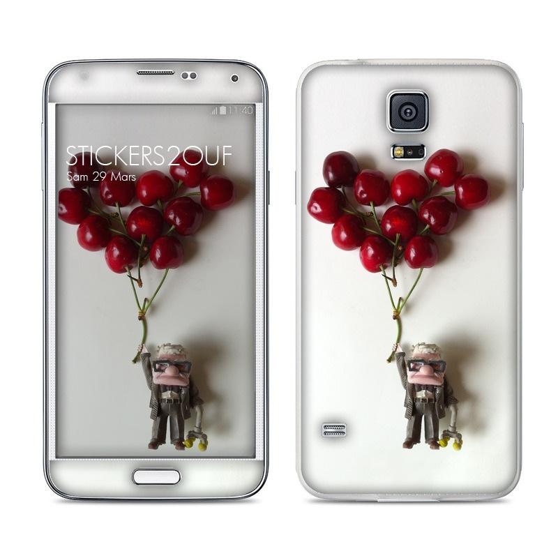 Up Cherry Galaxy S5