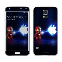 Mini iron man Galaxy S5