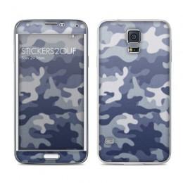 Camo bleu Galaxy S5