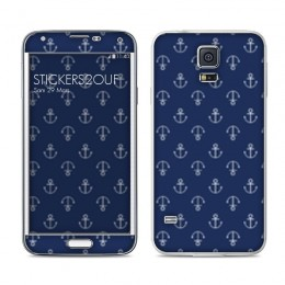Blue Anchor Galaxy S5