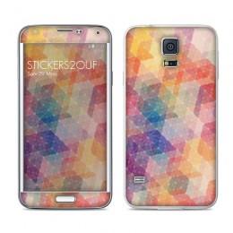 Geometric Galaxy S5