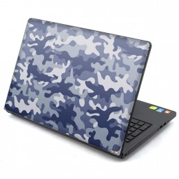Camo blue Laptop