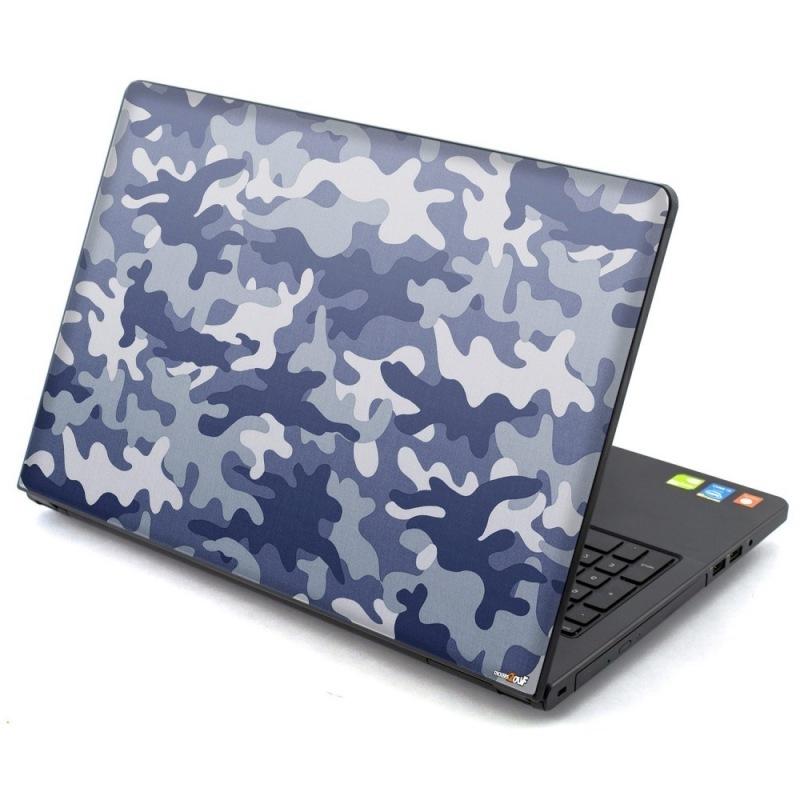 Camo blue Laptop
