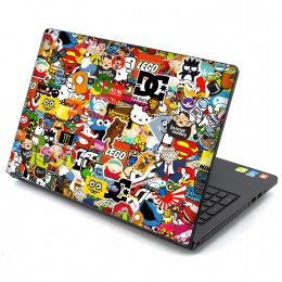 Stickerbomb Laptop