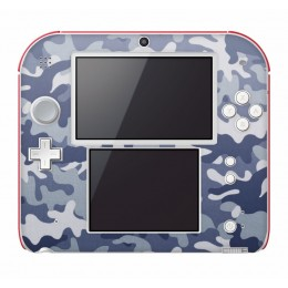 Camo blue Nintendo 2DS