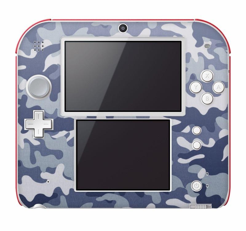 Camo blue Nintendo 2DS