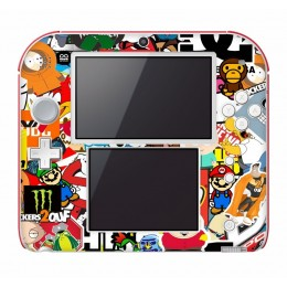 Stickerbomb Nintendo 2DS