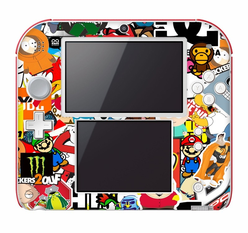 Stickerbomb Nintendo 2DS