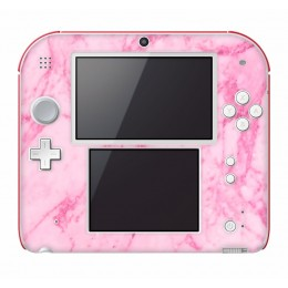 Pink marble Nintendo 2DS
