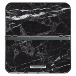 Black marble New 3DS XL