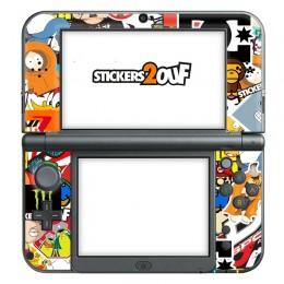 Stickerbomb New 3DS XL