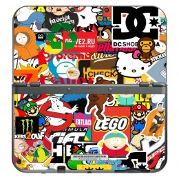 Stickerbomb New 3DS XL