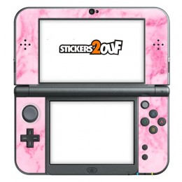 Pink marble New 3DS XL