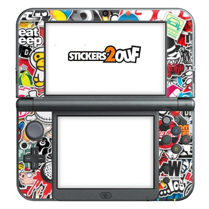 Donnez à Votre New 3DS XL Un Tout Nouveau Look ! Nos Skins Autocollants  Sont Ultra Fins Et Protègent Des Rayures.  Se Pose Facilement Grâce à La  Technologie ...
