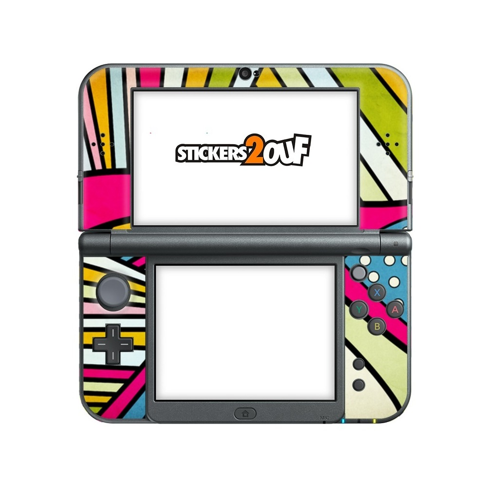 Nintendo 3ds Xl Colors : Skin fake colors new ds xl nintendo