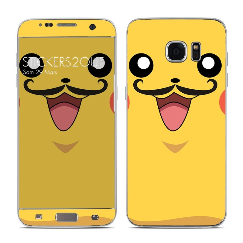 Pikamoustache Galaxy S7 Edge