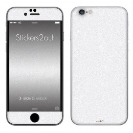 Glitter Blanc iPhone 6 et 6S