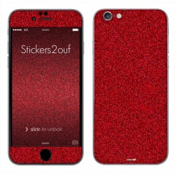 Glitter Rouge iPhone 6 et 6S