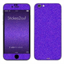 Glitter violet iPhone 6 et 6S
