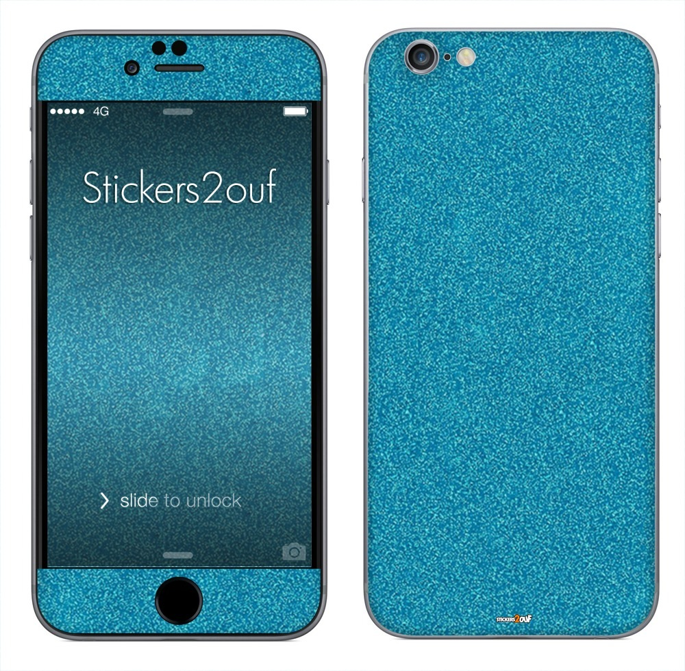 Glitter Turquoise iPhone 6 et 6S