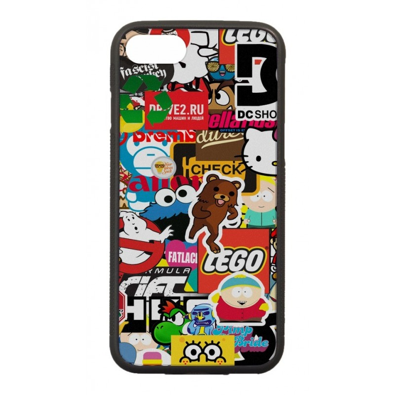 Coque StickerBomb