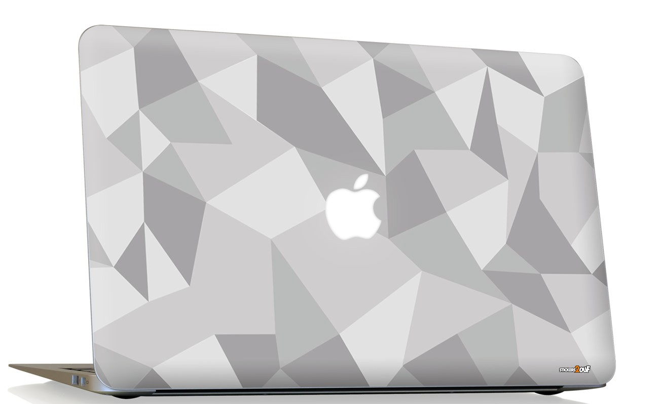BW shapes Macbook