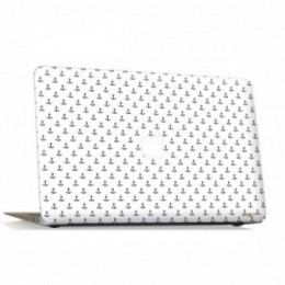 White anchor Macbook