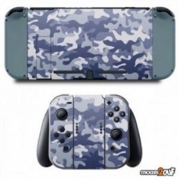 Camo blue Nintendo Switch