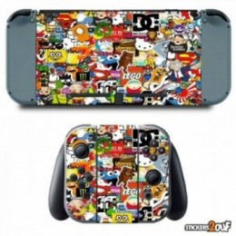 Stickerbomb Nintendo Switch