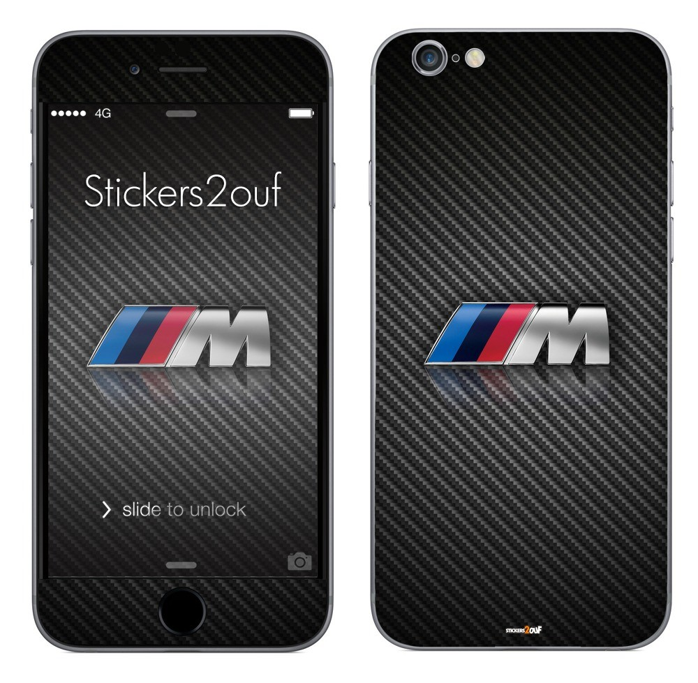 skin autocollant logo m iphone 6 plus stickers