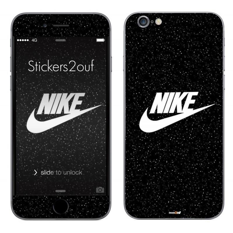 Skin autocollant Nike basic iPhone 6 et 6S (stickers) f80621c4301