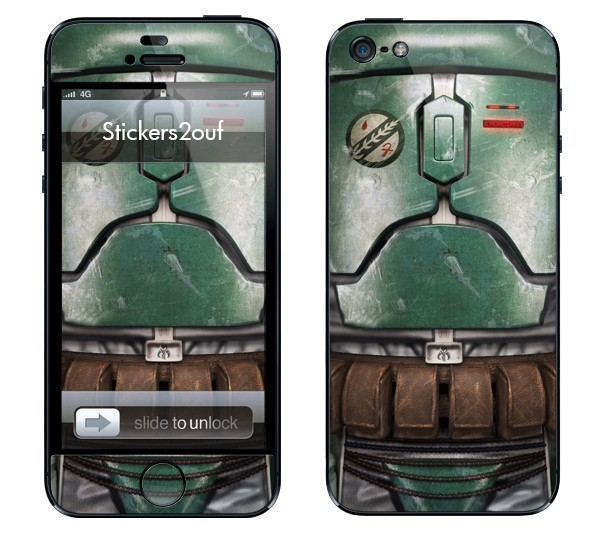 Boba Fett iPhone 5 et 5S