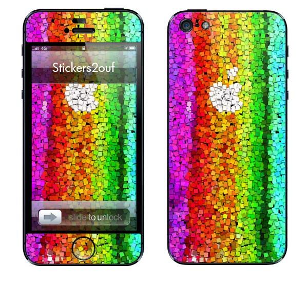 Falling Cube iPhone 5