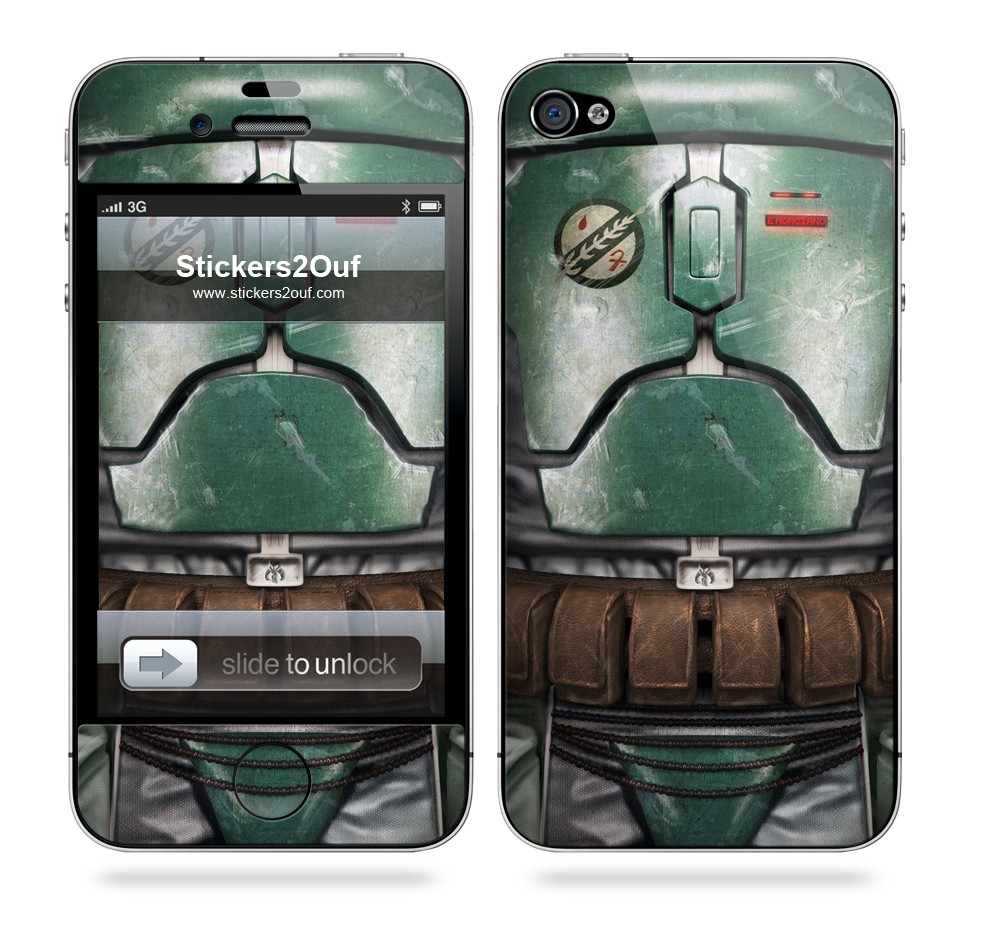 Boba Fett iPhone 4 & 4S
