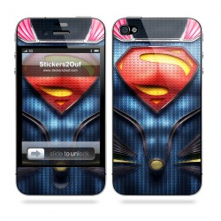 Man Of Steel iPhone 4 & 4S