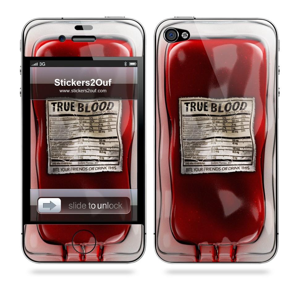 TrueBlood iPhone 4 & 4S