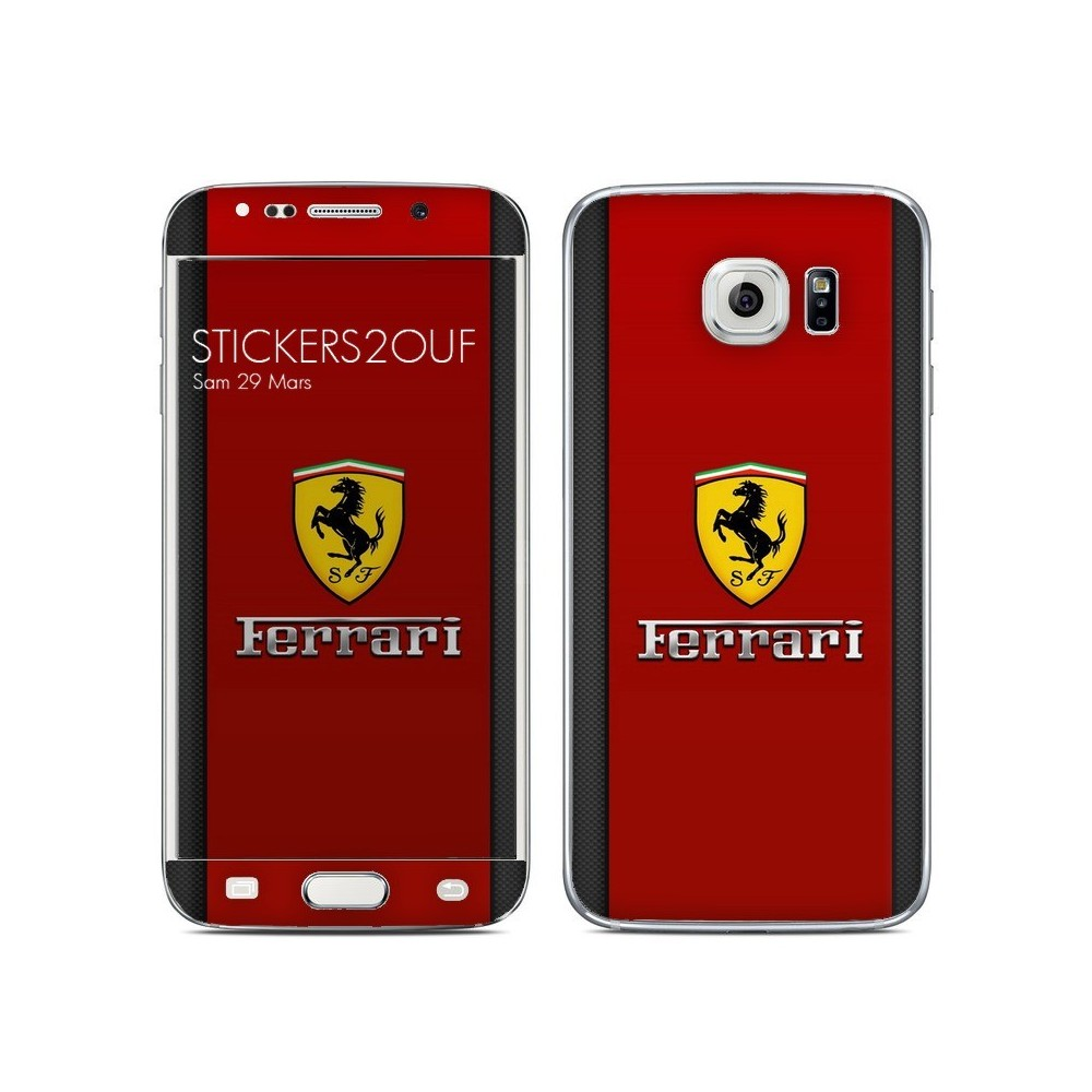 Ferrari carbone Galaxy S6 Edge