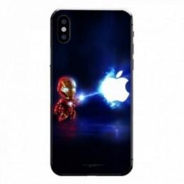 Mini iron man iPhone X