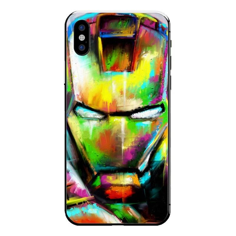 iron paint iPhone X